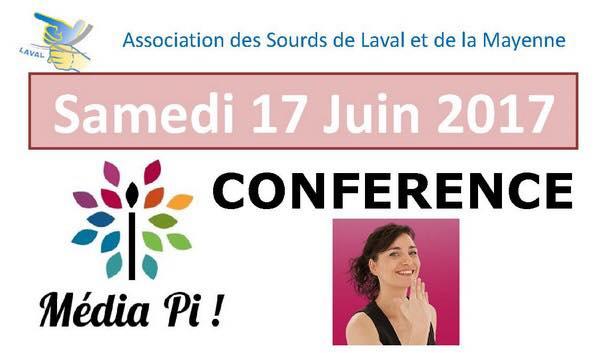 Nouvelle conférence à Laval ! le 17 juin