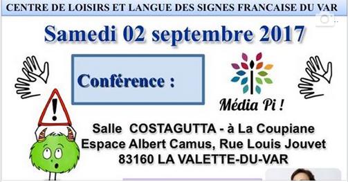 Nouvelle conférence dans le Var (83) le 2 Septembre